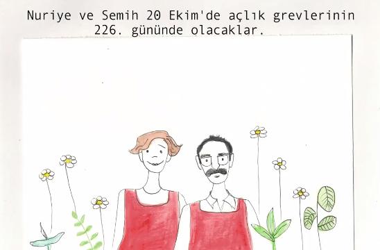 VİDEO   Nuriye ve Semih'in duruşmasına çağrı