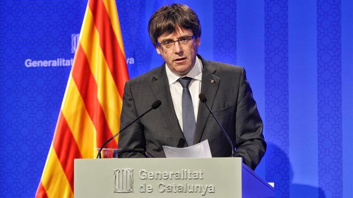 Katalonya Başkanı'ndan bağımsızlık çıkışı