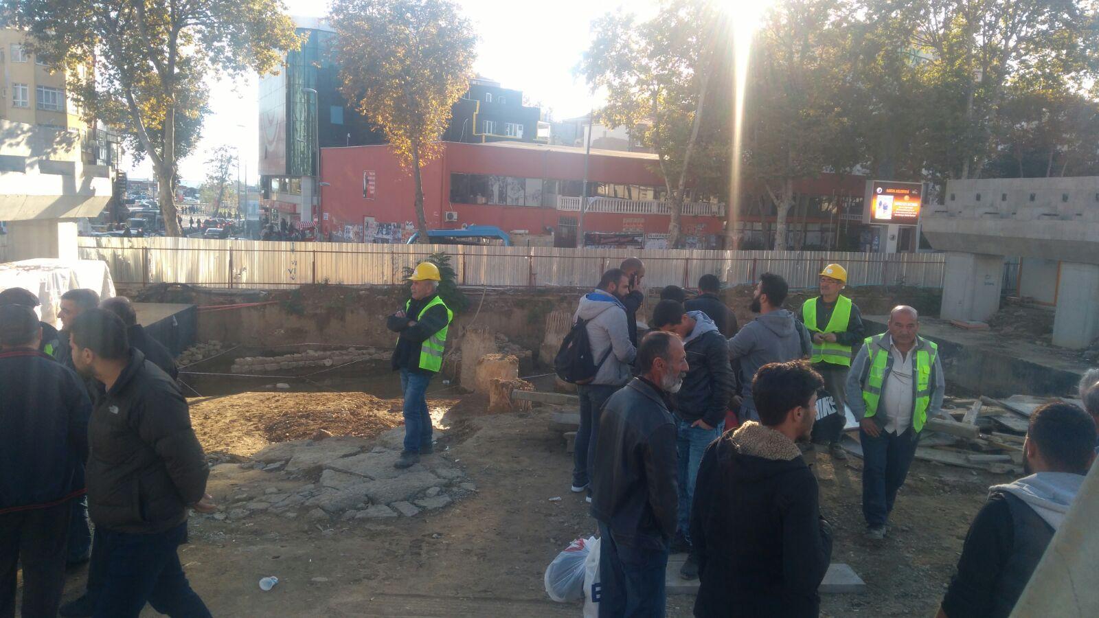 Kartal'da tren yolu inşaatında patron zorbalığı: 47 işçiyi işten attı, güvenlikçileri saldırttı!