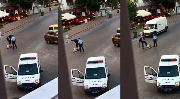 VİDEO | Sokak ortasında polis terörü: Saçlarından sürüklenip tekmelenen kadının kimliği belli oldu