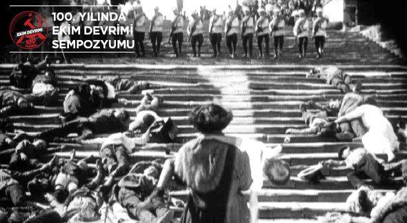 Alev Doğan: Ekim Devrimi'nin sinemaya yaptığı katkı bugün ders olarak okutuluyor