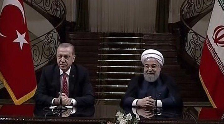 Erdoğan ve Ruhani görüştü: Ticarette yeni kararlar, Barzani'ye ağır yaptırım uyarıları