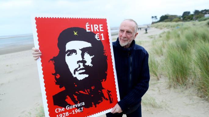 İrlanda posta servisi Che için özel posta pulu bastırdı