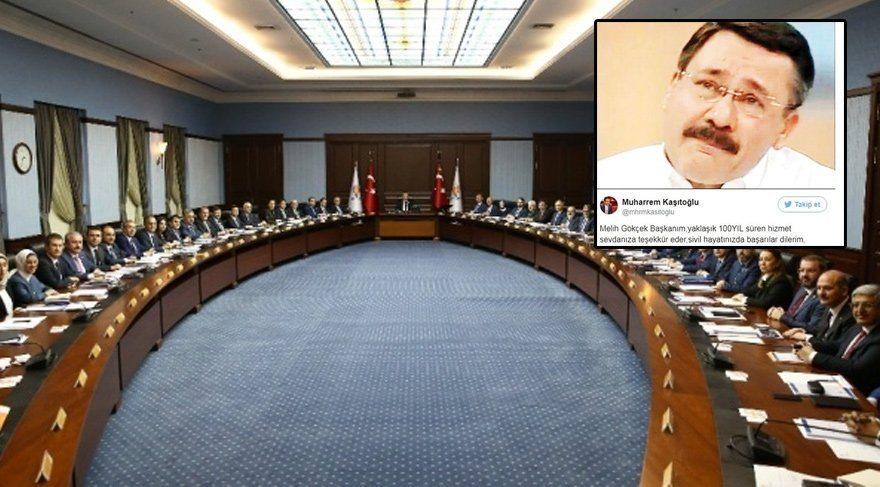 Gökçek'e 'başarılar' dileyen AKP'li isim disipline veriliyor