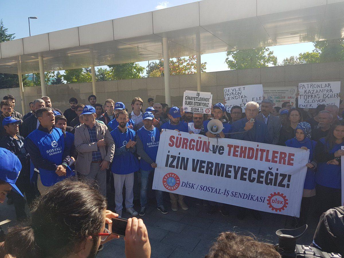 VİDEO | Kod-A işçileri sendikal hakları için eylemde!