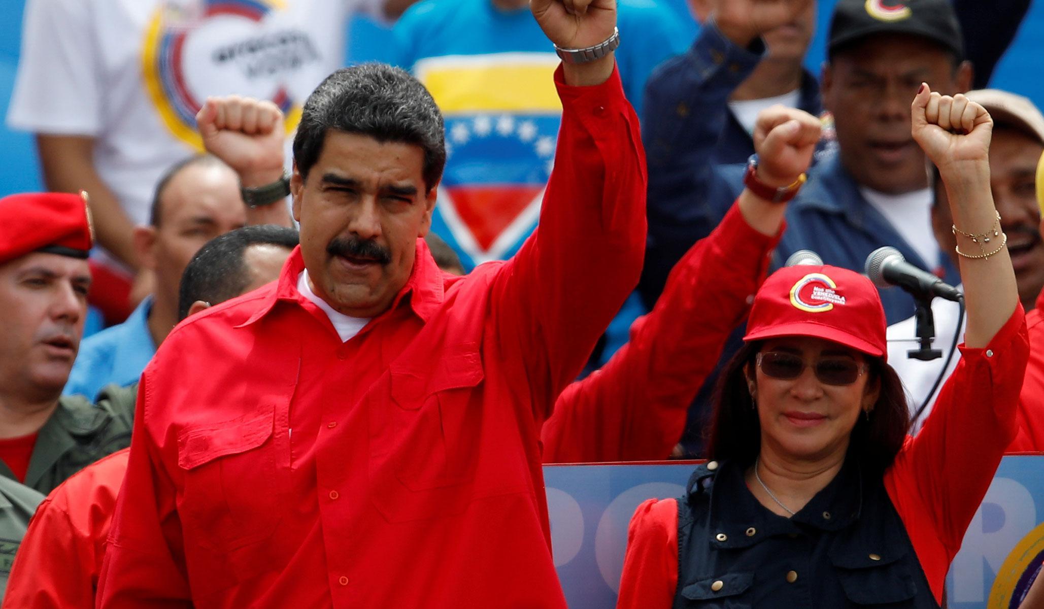 Venezuela'da eyalet seçimleri tamamlandı, zafer Maduro'nun!