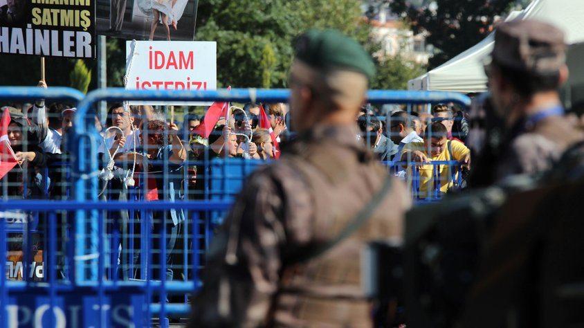 'Erdoğan'a suikast' sanıklarına