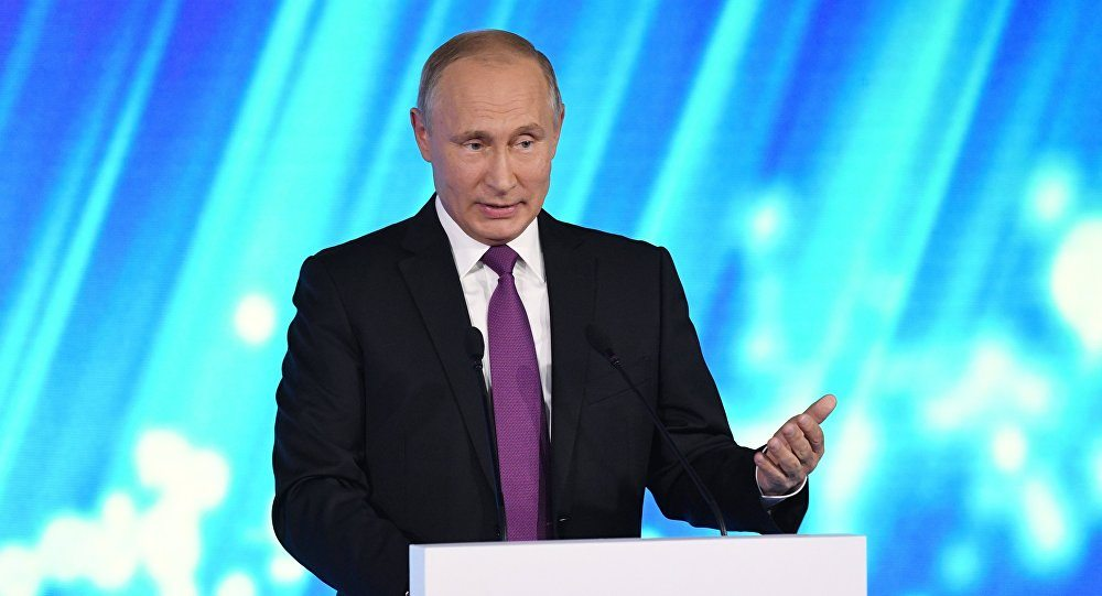 """Putin: """"Suriye'de teröristler temizlenecek"""""""