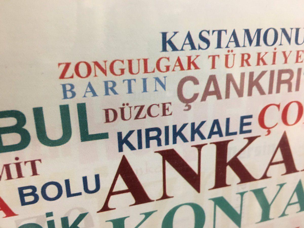 Türk Dil Kurumu Zonguldak'ı 'Zongulgak' yaptı