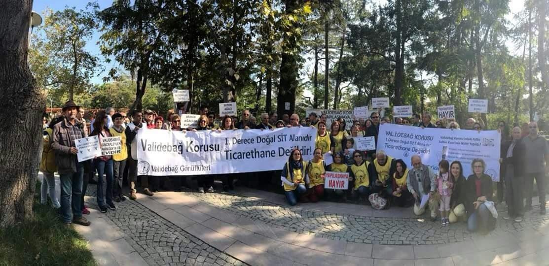 Validebağ Gönüllüleri sondaj ve rant girişimine karşı ayakta