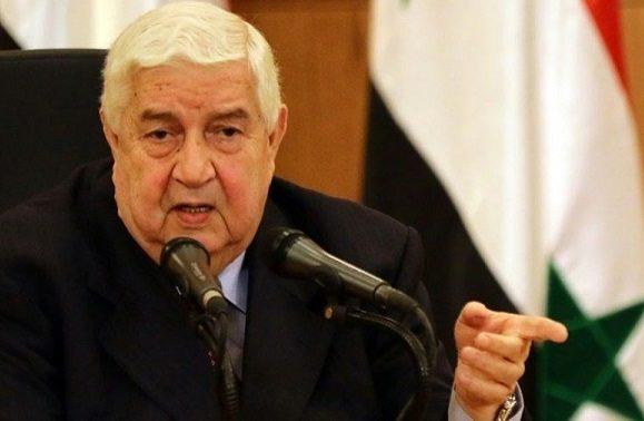 Suriye Dışişleri Bakanı Muallim: Kürt güçleri ABD desteğiyle sarhoşluk içerisinde ama...