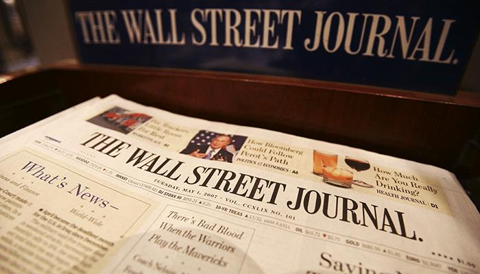 Wall Street Journal Türkiye muhabirine hapis cezası