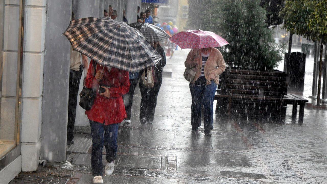 Meteorolojiden serin ve yağışlı hava uyarısı