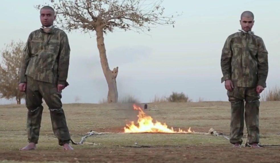 Devlet Sefter Taş'ı IŞİD'in yaktığını kabul etti: Şehitlik verilecek