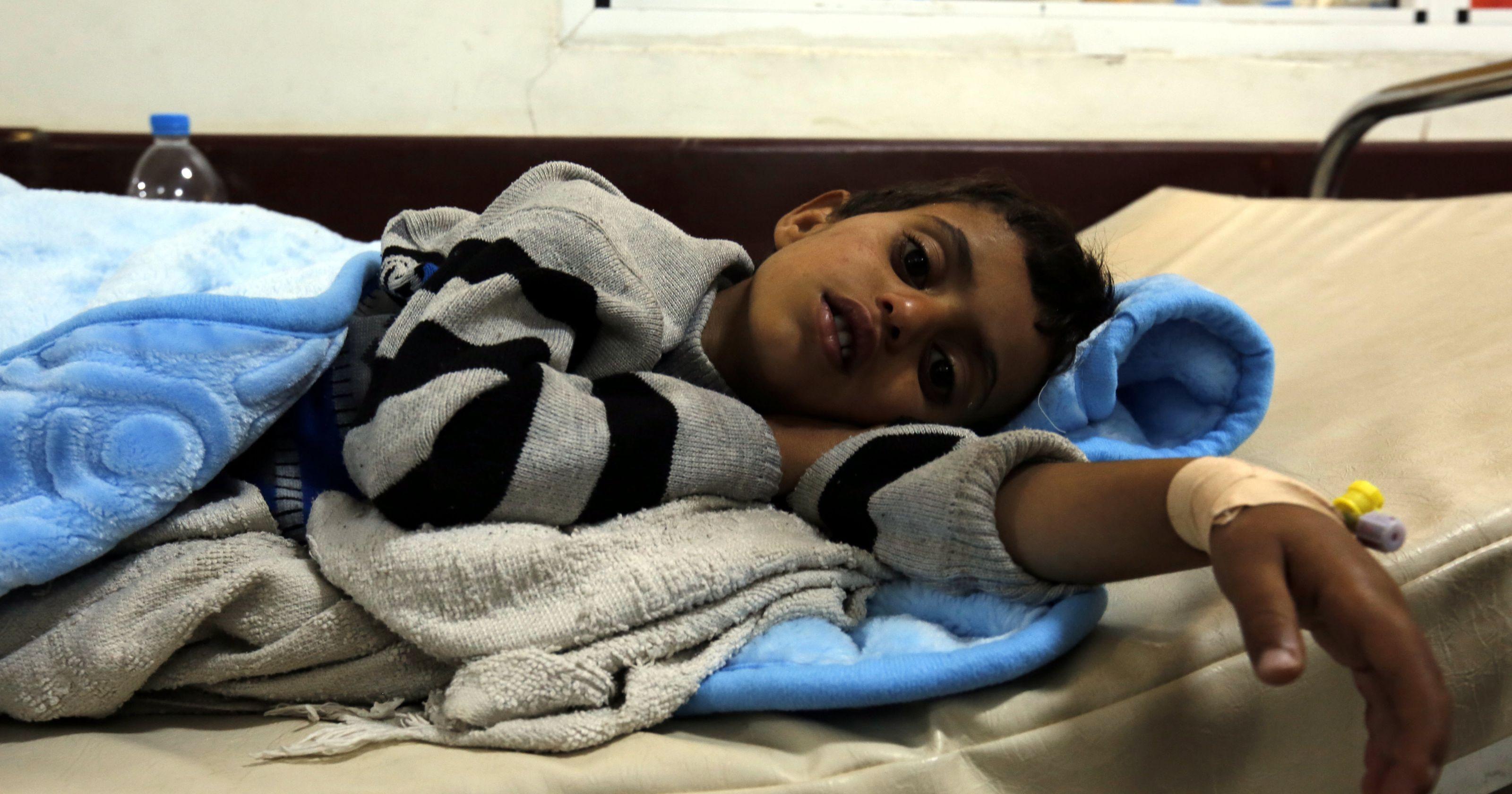 Suudi Arabistan'ın saldırılar düzenlediği Yemen'de 872 bin kişide kolera tespit edildi