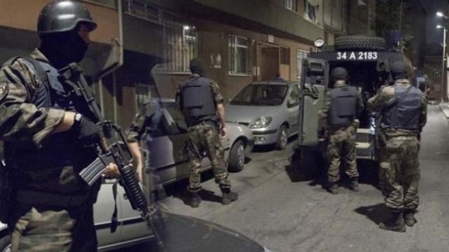 Samsun'da IŞİD operasyonu