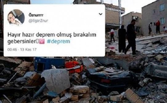 Depremin ardından