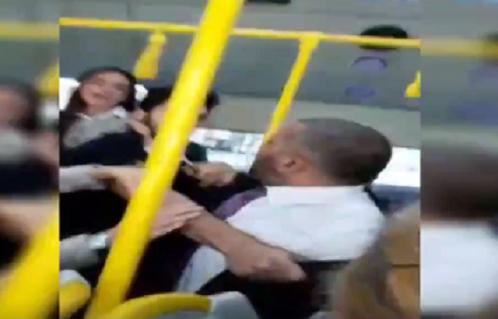 VİDEO | İstanbul'da İETT şöförü tornavida ile yolculara saldırdı