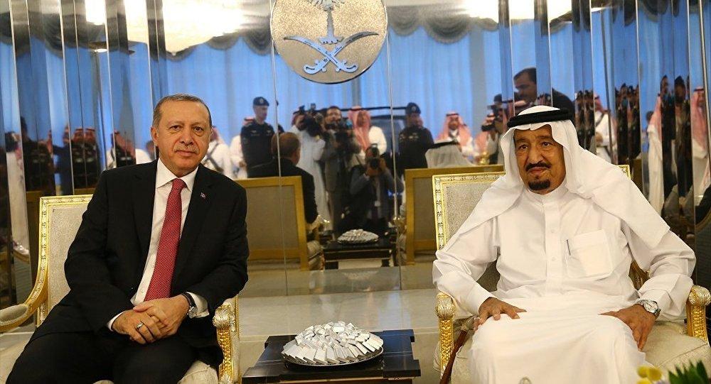 Erdoğan Suudi Arabistan Kralı Selman ile Soçi zirvesini görüştü