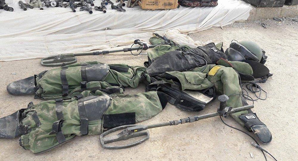 IŞİD'den ele geçirilen depolarda çok sayıda ABD silahı ele geçirildi