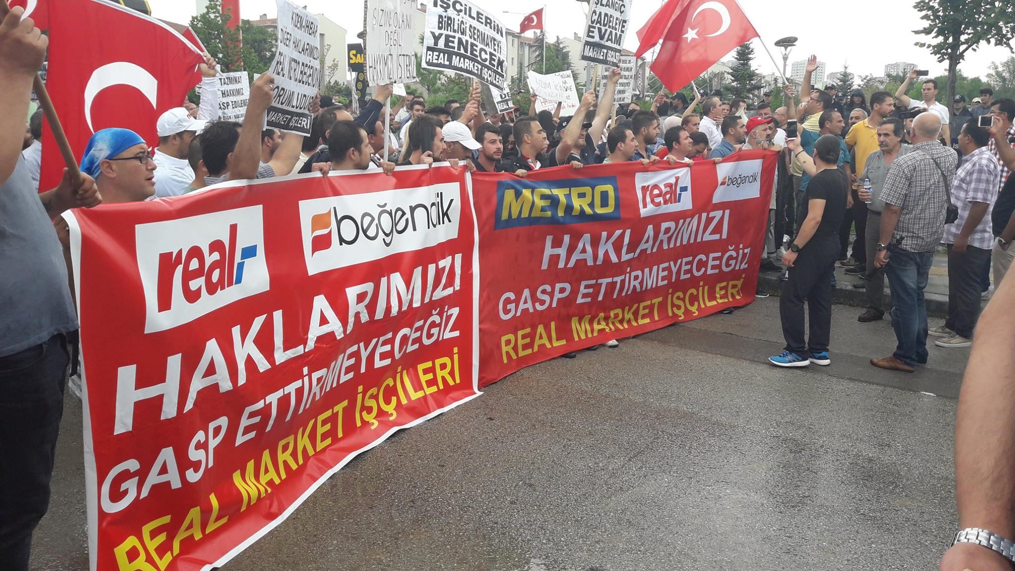 Hakları gasp edilen Real işçileri Manifesto'ya konuştu