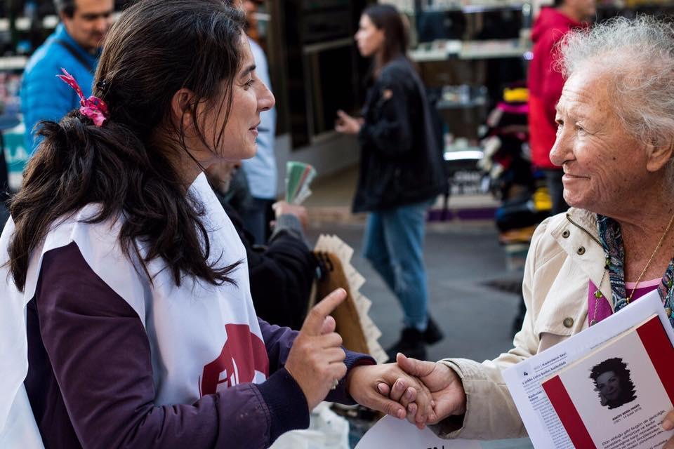 Kadınlar maruz kaldıkları şiddete karşı sokaklara çıktı