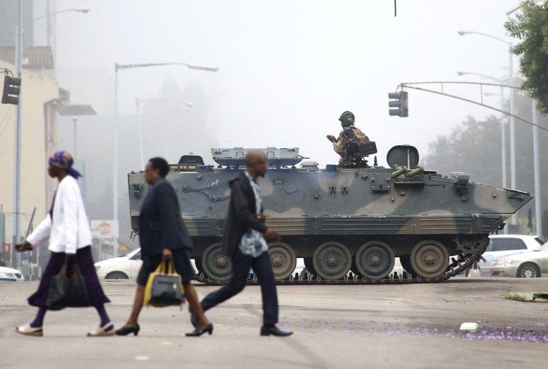 Zimbabve'de neler oluyor?