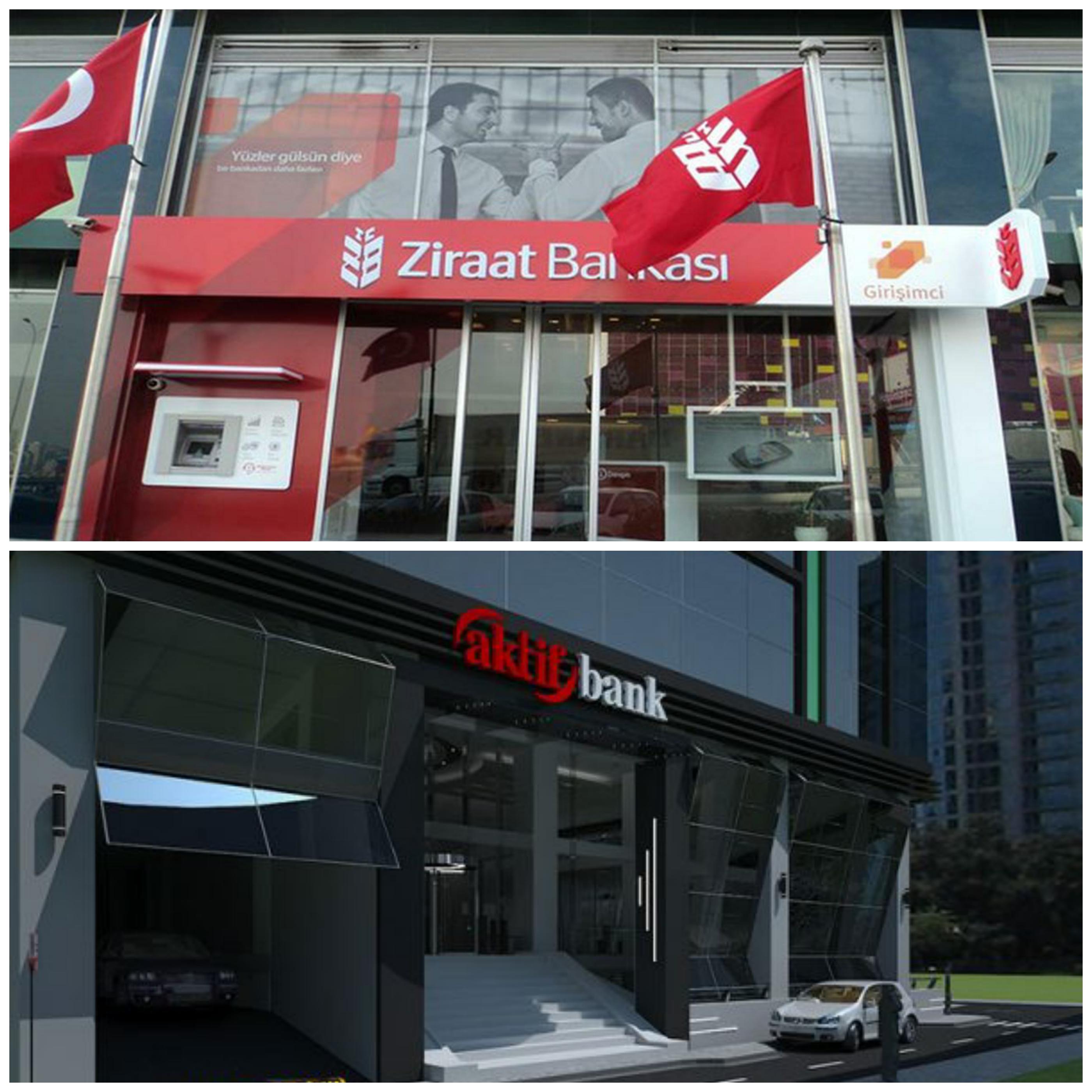 Aktif Bank ile Ziraat Bankası'ndan Rıza Sarraf açıklaması