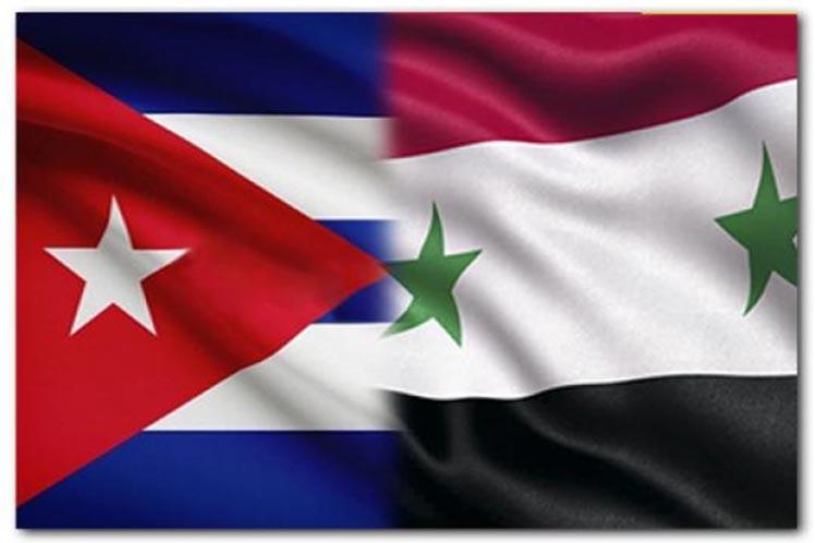 Emperyalizme karşı mücadele eden iki ülke Küba ile Suriye arasında dostluk görüşmesi gerçekleşti