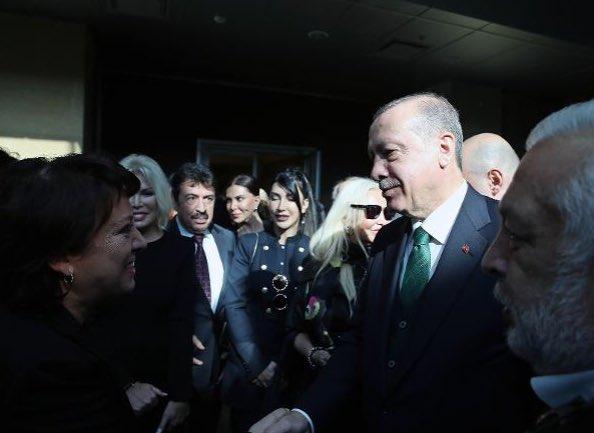 İşte Erdoğan'la boy gösteren sanatçılar...