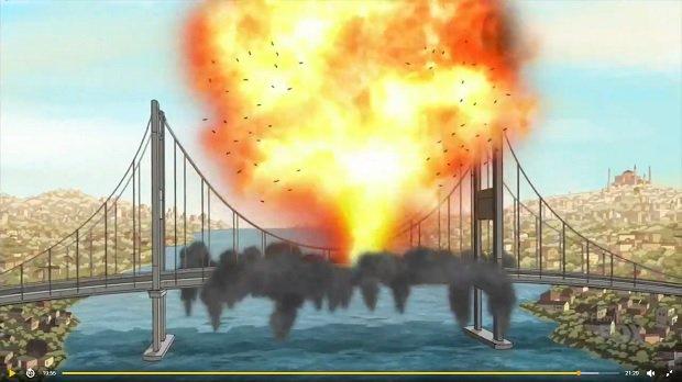 Family Guy'ın son bölümünde İstanbul'u yerle bir ettiler