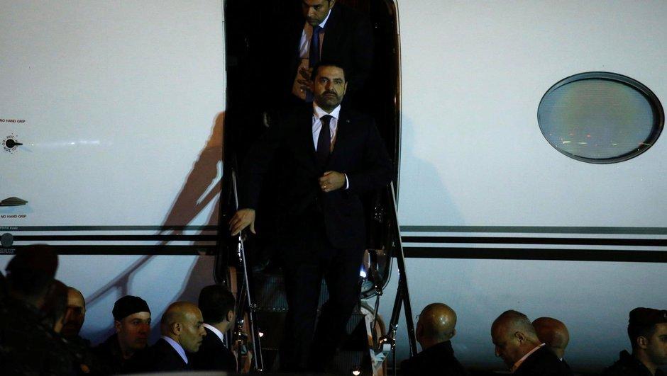 Suudi Arabistan'da istifa eden Hariri Lübnan'a döndü
