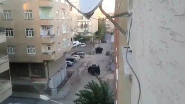 Diyarbakır'da polis baskını sonrası çatışma
