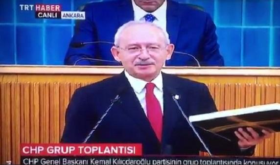 VİDEO | Belgeler açıklanırken TRT yayını kesti