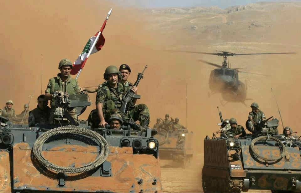 Lübnan ordusu İsrail saldırısına karşı alarma geçti