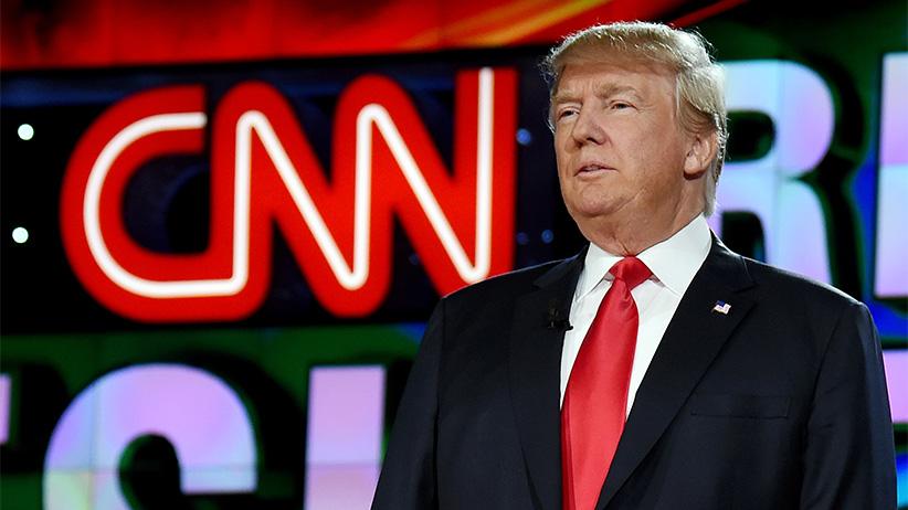 Trump: CNN International önemli bir yalan haber kaynağı