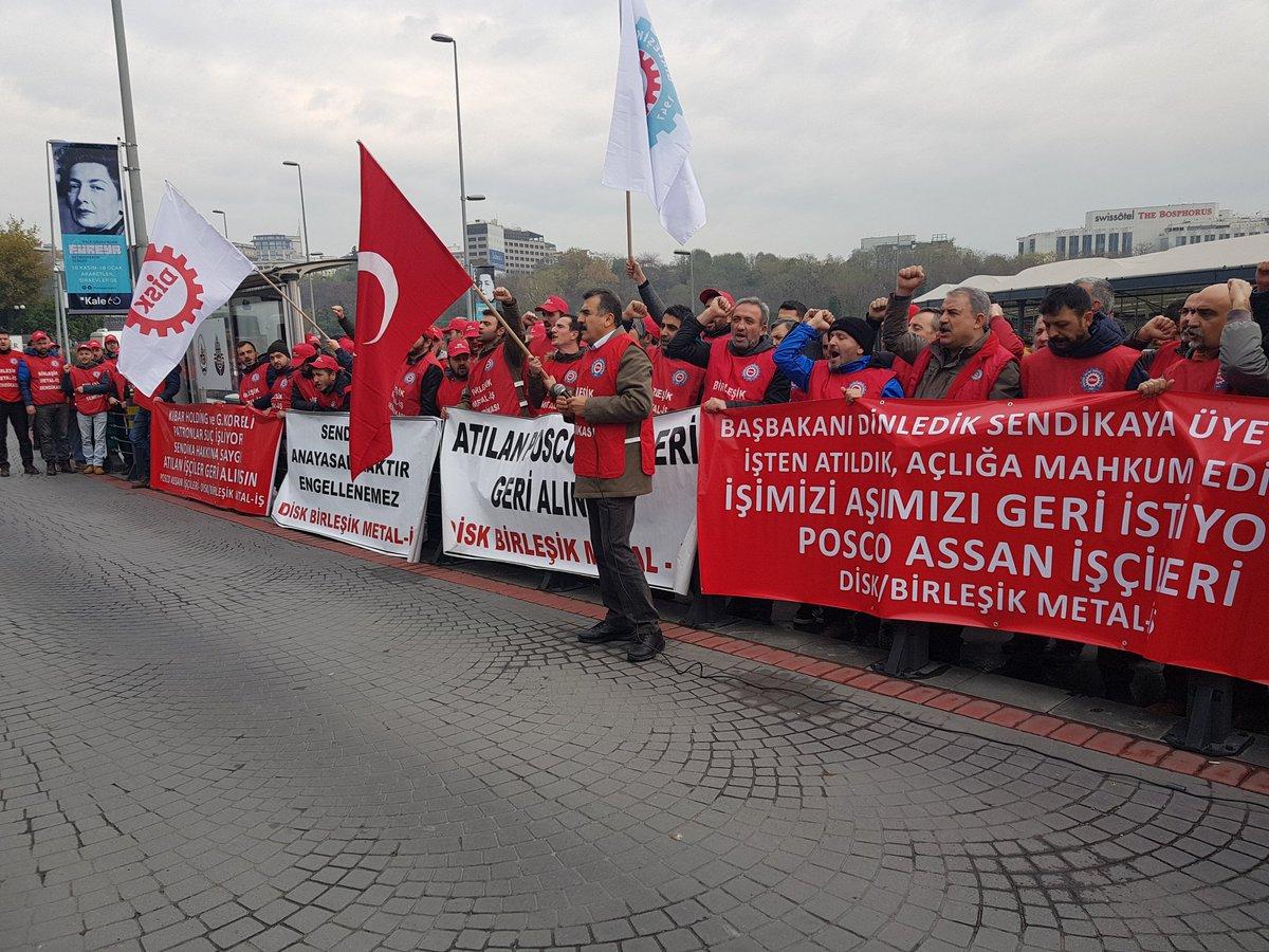 Direnen Posco işçileri eylemde: Anladıkları dilden konuşacağız!