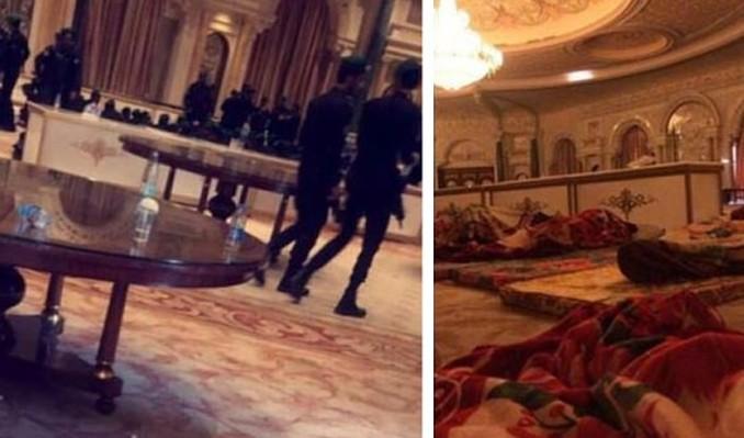 Yer Ritz Carlton: Prensler yerlerde