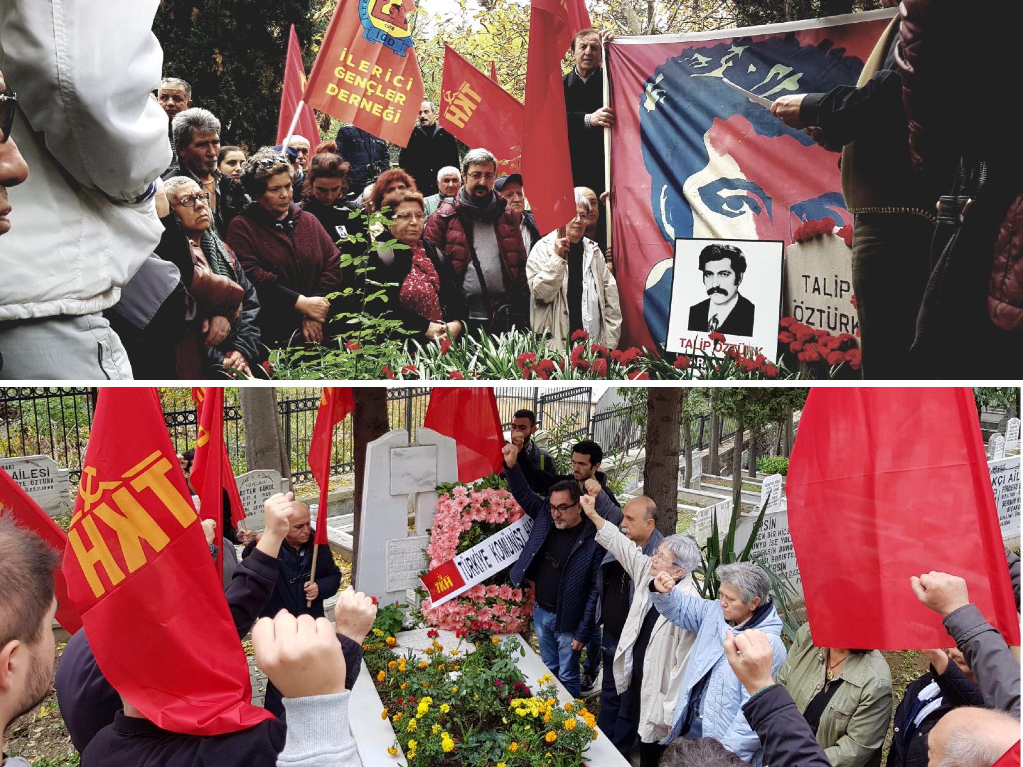 Mustafa Hayrullahoğlu ve Talip Öztürk yoldaşları tarafından anıldı