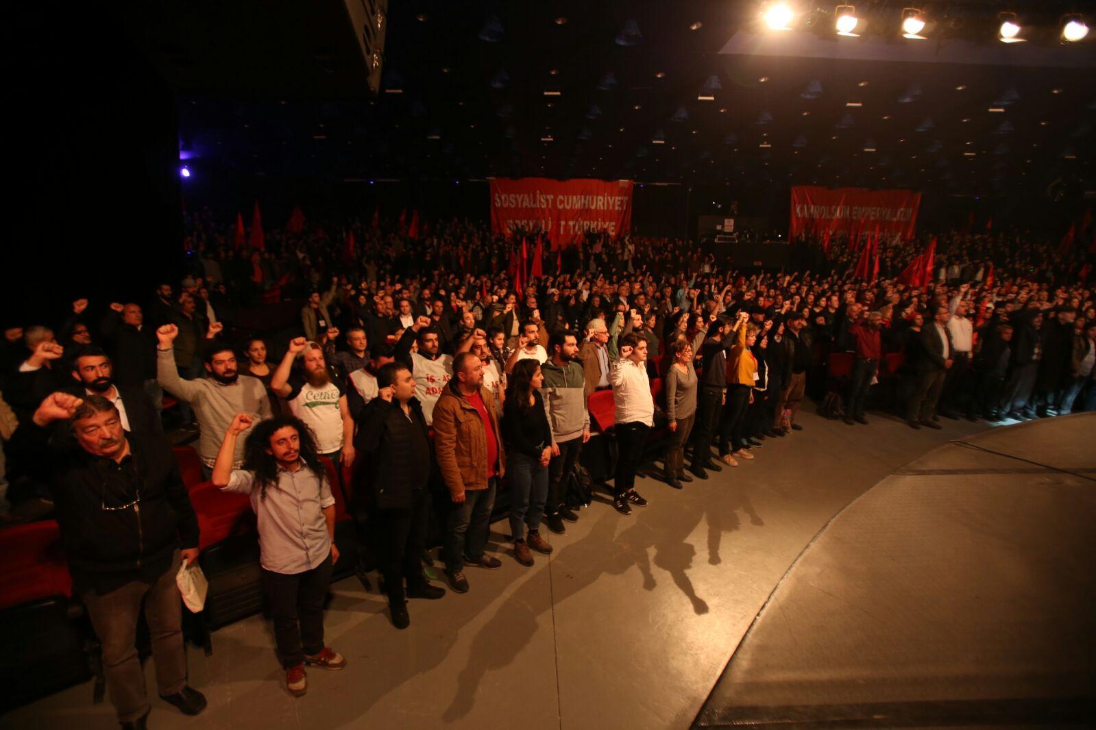 'Sosyalist Türkiye Bildirgesi' açıklandı: Yeni bir Cumhuriyeti emekçi halkın örgütlü gücü kuracaktır!