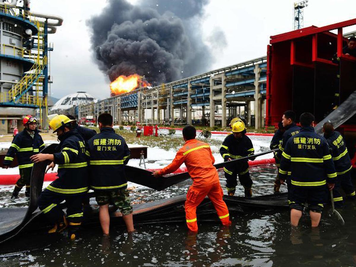 Pekin'de yangın: Ölü ve yaralılar var