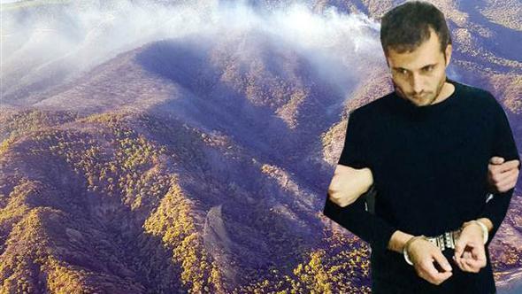 Datça'yı kundaklayan Muğla Orman Bölge Müdürlüğü çalışanı çıktı