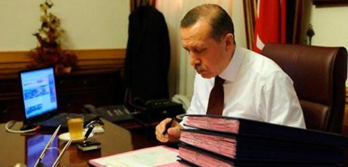 250 kişilik liste gece yarısı Erdoğan'a sunuldu