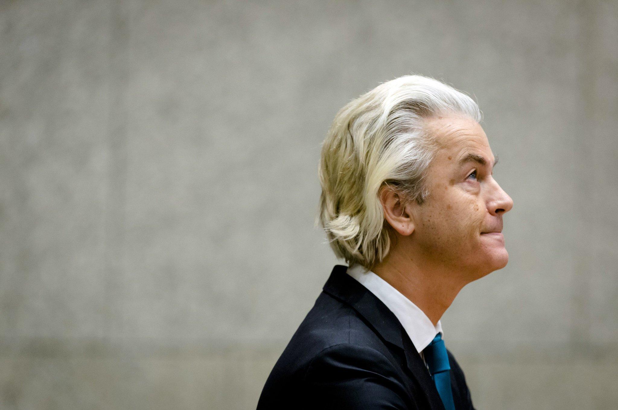 Aşırı sağcı Wilders'in
