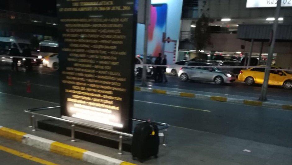 Atatürk Havalimanı'nda hareketli anlar