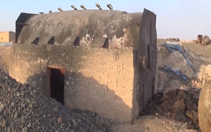 VİDEO | IŞİD'in çaldığı petrolü sakladığı gizli depolar bulundu