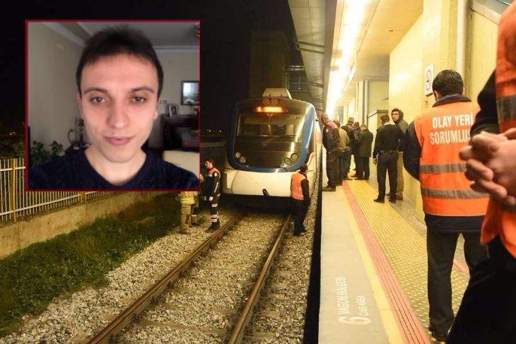 Trenin önüne atladığı iddia edilen mühendislik öğrencisi hayatını kaybetti