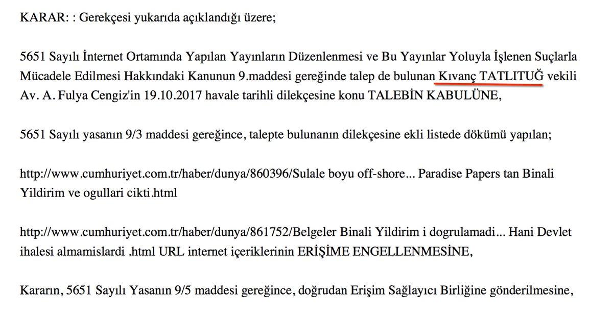 'Kopyala-Yapıştır' AKP yargısı: 'Paradise Papers'a engelleme kararını Kıvanç Tatlıtuğ'a bağladılar