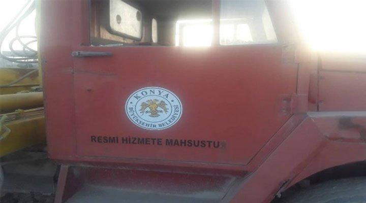 Rakka'da bulunan araç için Konya Büyükşehir Belediyesi'nden açıklama