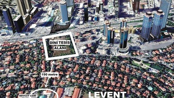 Levent'te halk deprem toplanma alanı istedi, AKP cami yapacak!